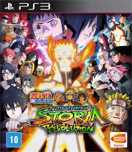 Naruto Shippuden Ultimate Ninja Storm Revolution Playstation 3 Original Lacrado  - Place Games