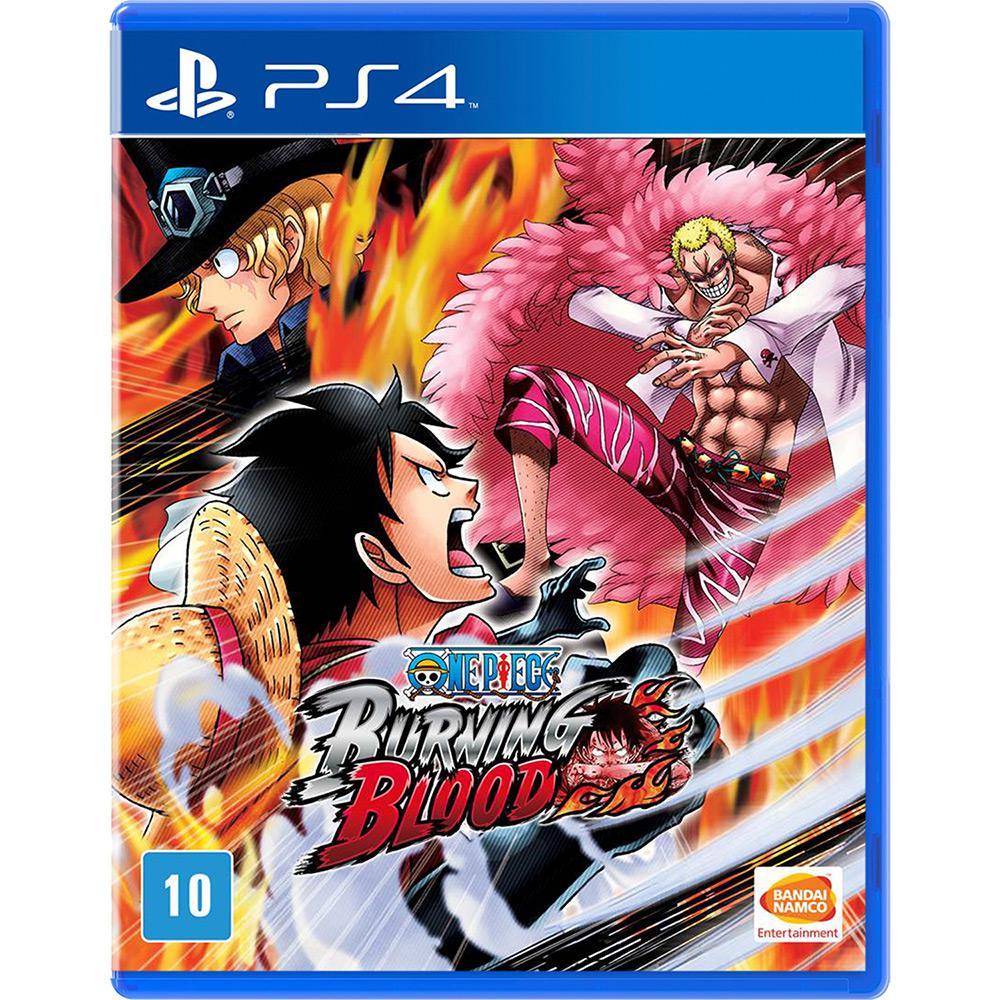 One Piece - Burning Blood Playstation 4 Original Usado  - Place Games