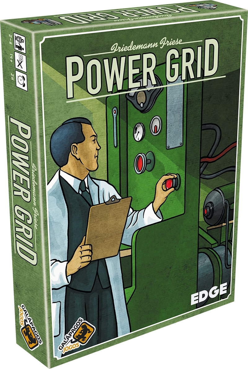 Power Grid Galapagos PWG001  - Place Games