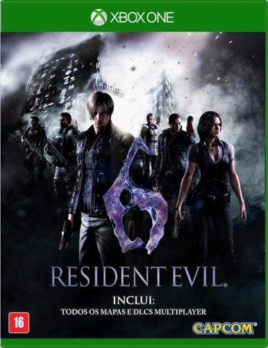 Resident Evil 6 Ultimate Edition Xbox One Original Lacrado  - Place Games