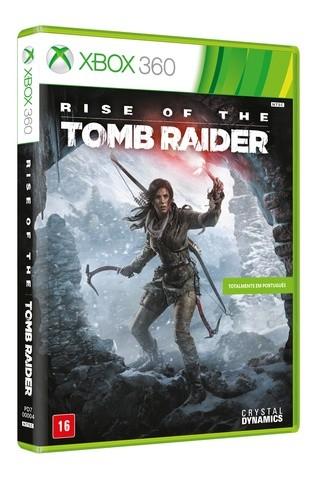 Rise of the Tomb Raider Xbox 360 Original Lacrado  - Place Games