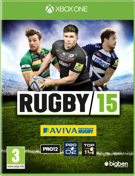 Rugby 15 Xbox One Original Lacrado  - Place Games