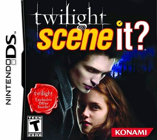 Scene it? Twilight  Nintendo DS Original Lacrado  - Place Games