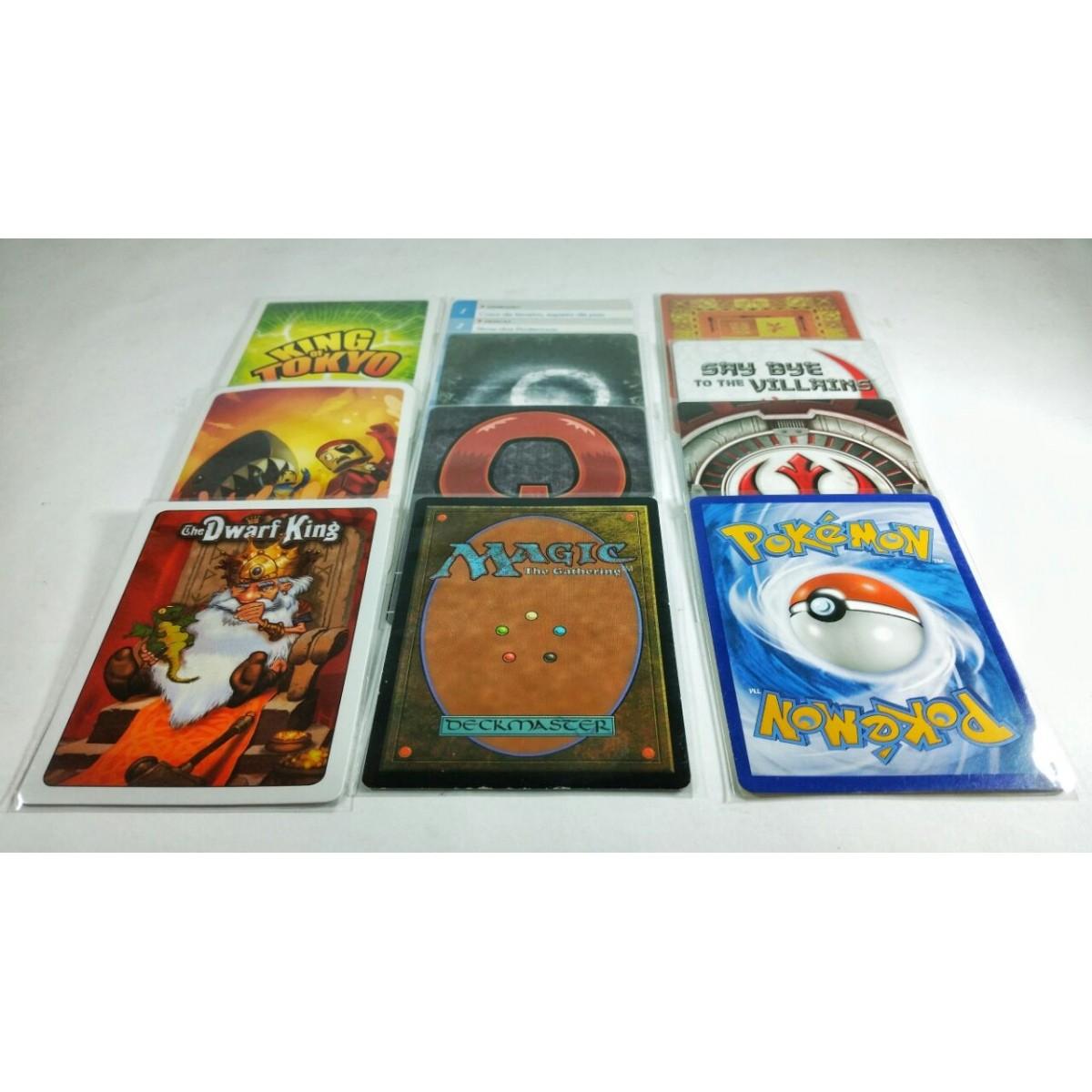 Shields Sleeves Poker Size 65 X 90mm Capas protetoras 100 unidades  - Place Games