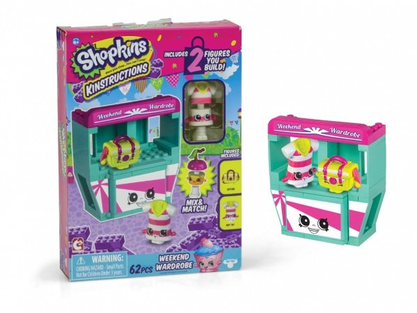 Shopkins Kinstructions Mini Pack Weekend Wardrobe DTC 4125  - Place Games