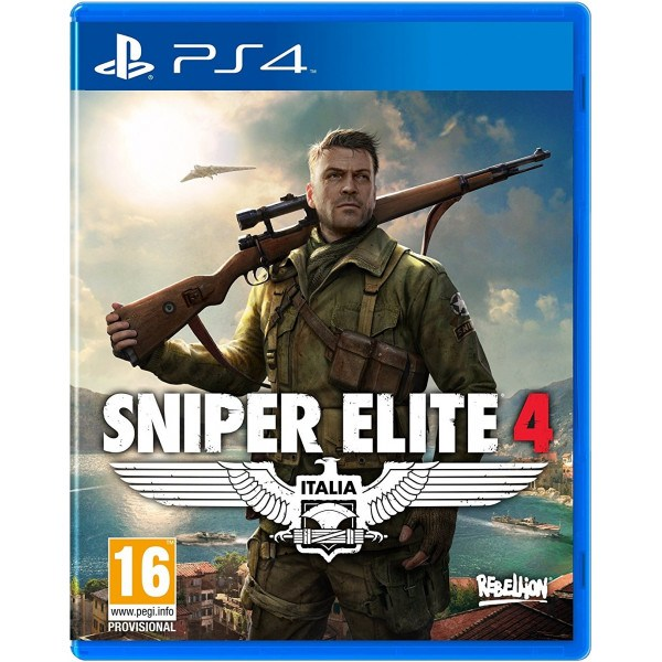 Sniper Elite 4 Playstation 4 Original Usado  - Place Games