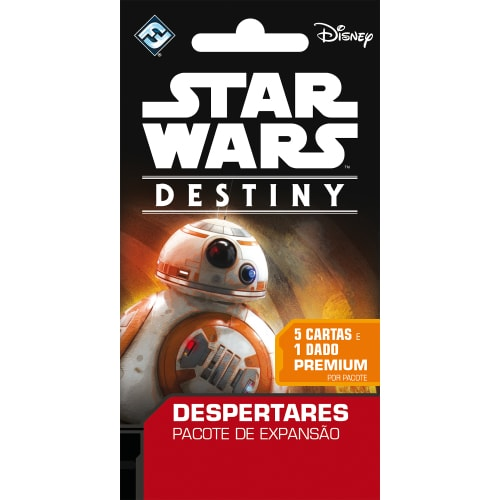 Star Wars Destiny Booster 5 cartas + dado Galapagos SWD003  - Place Games