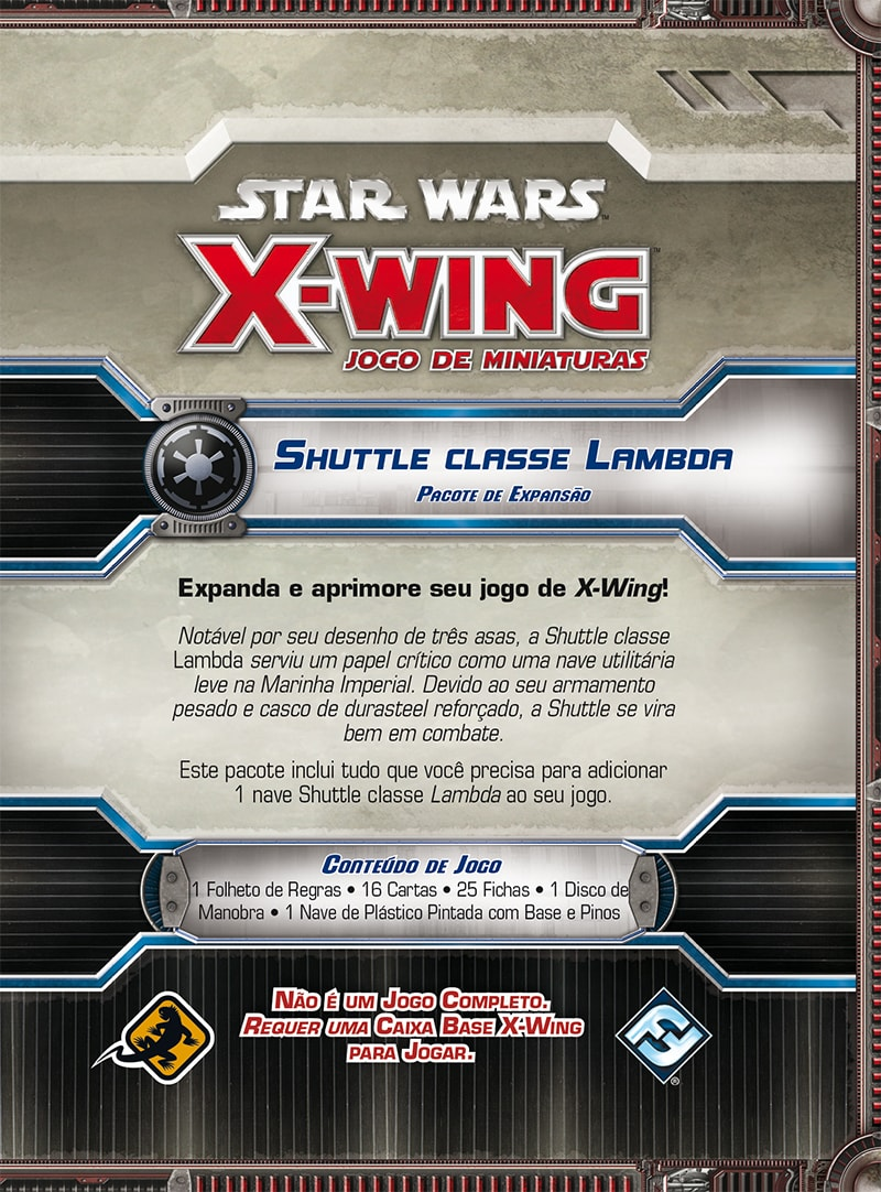 Star Wars X Wing Shuttle Classe Lambda Galapagos SWX013  - Place Games