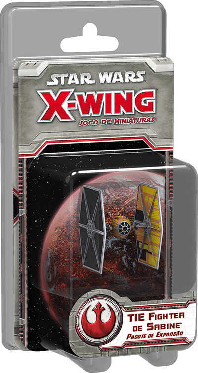 Star Wars X Wing Tie Fighter de Sabine Galapagos SWX059  - Place Games