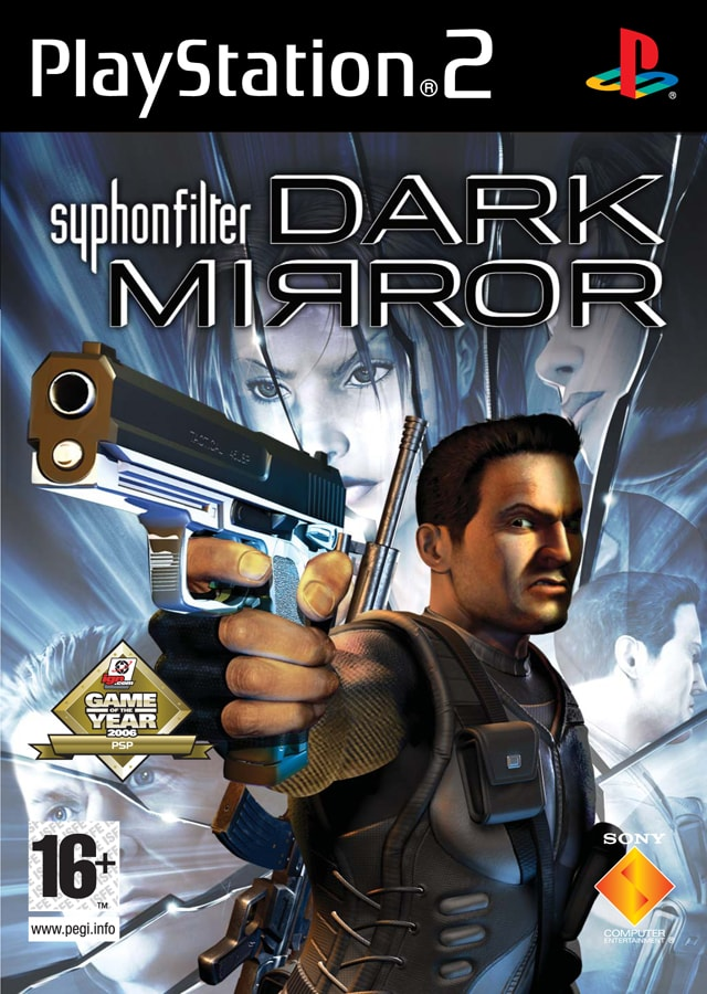 Syphon Filter Dark Mirror Playstation 2 Original Lacrado  - Place Games