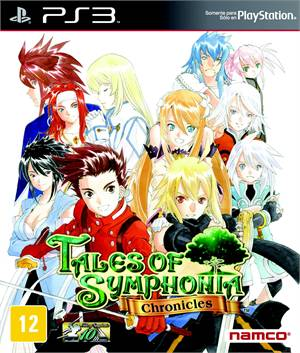 Tales of Symphonia Chronicles Playstation 3 Original Lacrado  - Place Games