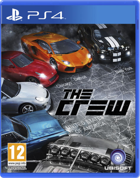 The Crew Playstation 4 Original Usado  - Place Games
