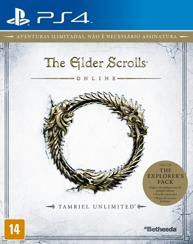 The Elder Scrolls Online Tamriel Unlimited Playstation 4 Original Lacrado  - Place Games