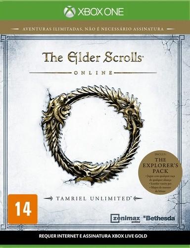 The Elder Scrolls Online Xbox One Original Usado  - Place Games