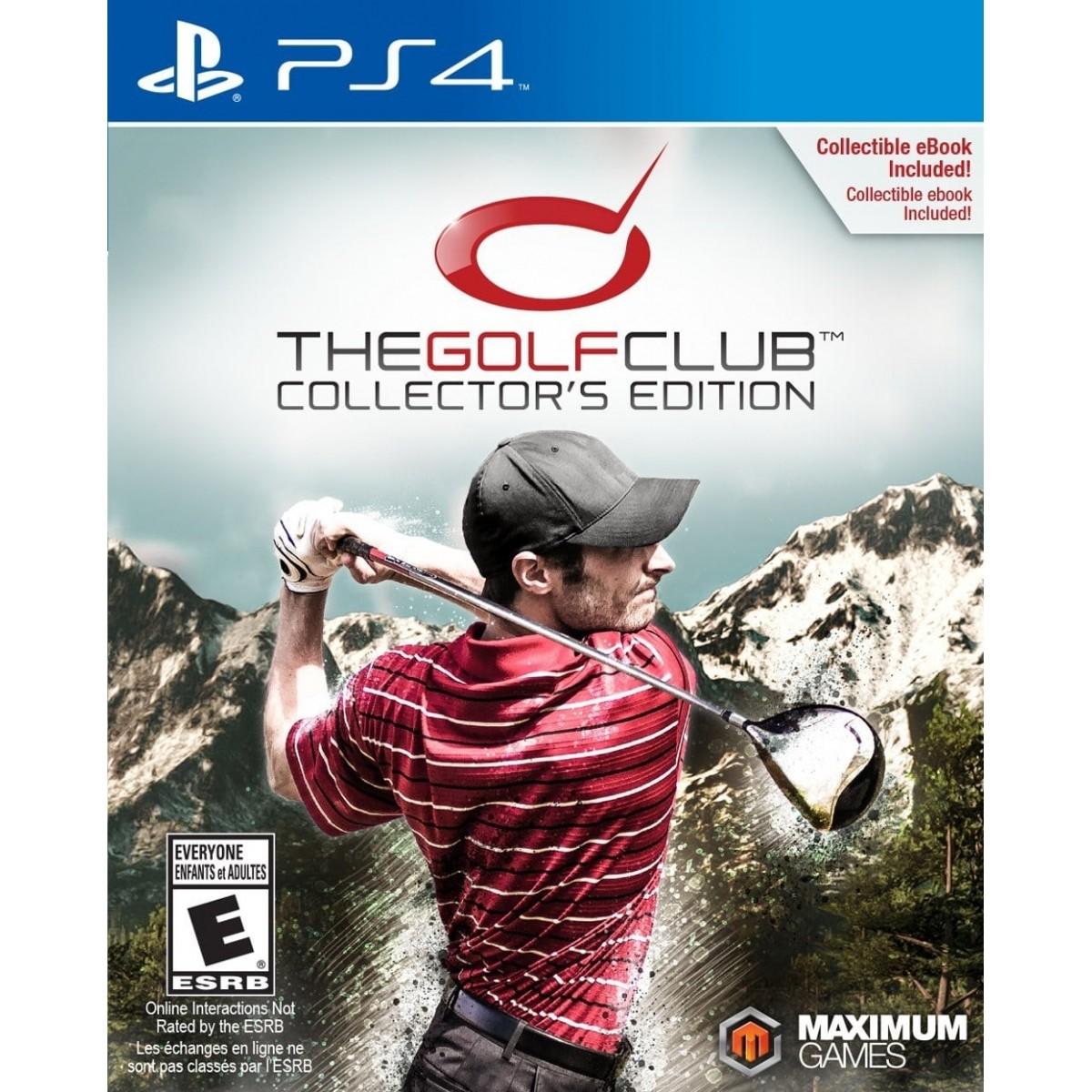 The Golf Club Collectors Edition Playstation 4 Original Lacrado  - Place Games