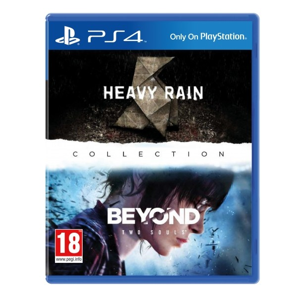 The Heavy Rain e Beyond Two Souls Collection Playstation 4 Original Usado  - Place Games