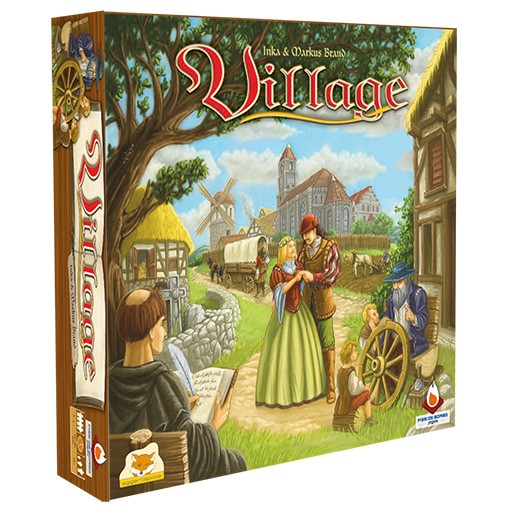 Village Fire on Board  - Place Games