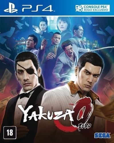 Yakuza 0 Playstation 4 Original Lacrado  - Place Games