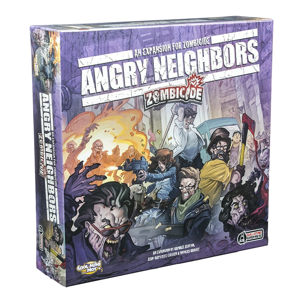 Zombicide Angry Neighbors Galapagos ZOM005  - Place Games