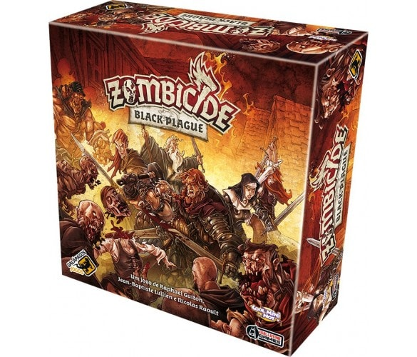 Zombicide Black Plague Galapagos ZOM201  - Place Games