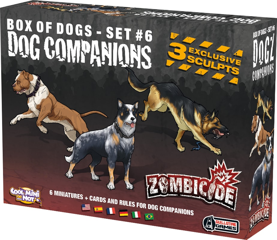 Zombicide Dog Companions Galapagos ZOM120  - Place Games