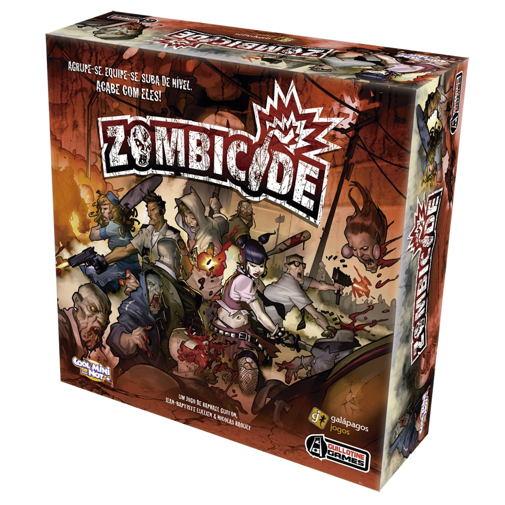 Zombicide  Galapagos ZOM001  - Place Games