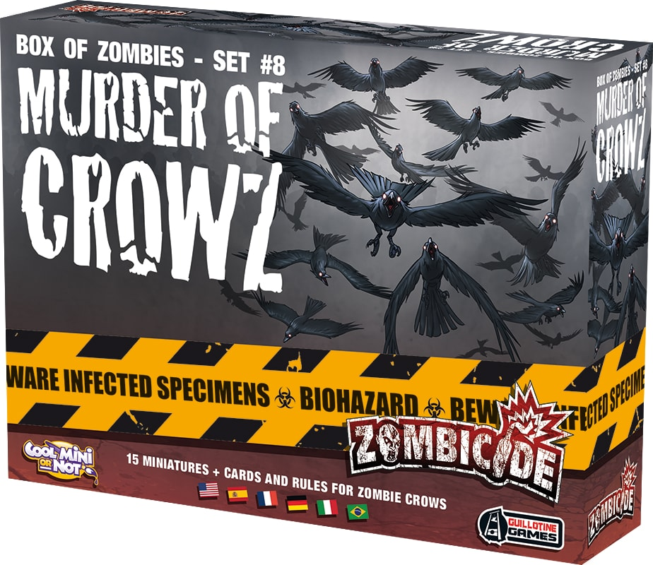 Zombicide Murder of Crowz Galapagos ZOM163  - Place Games