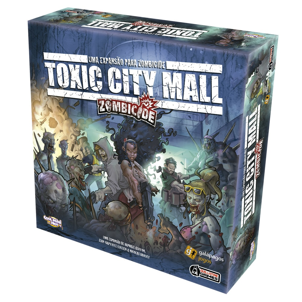 Zombicide Toxic City Mall Galapagos ZOM003  - Place Games