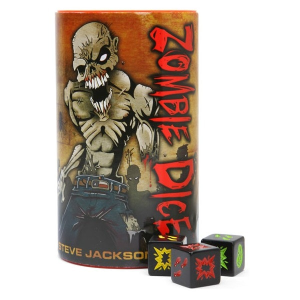 Zombie Dice Galapagos ZBD001  - Place Games