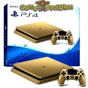 Playstation 4 Slim DOURADO - Novo Modelo SLIM - 500gb