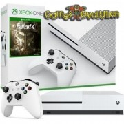 Xbox One - 500GB - Cor Branca - Com Jogo Fallout 4