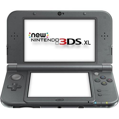 Console Nintendo New 3DS XL - Preto