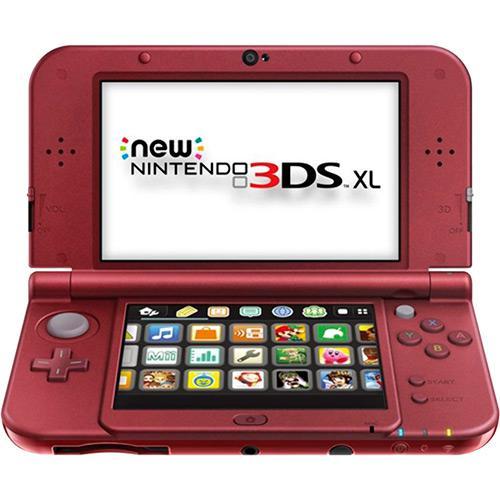 Console Nintendo New 3DS XL - Vermelho