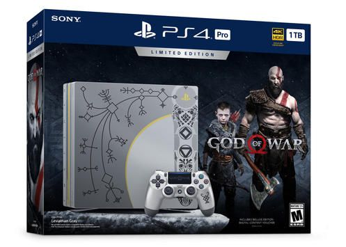 Console PlayStation 4 Pro 1TB Limited Edition God of War Bundle