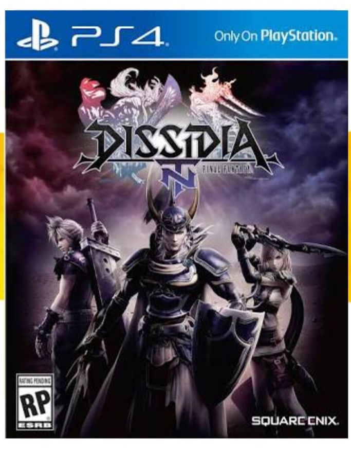 Game Dissidia Final Fantasy Nt - PS4