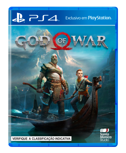 Game God Of War - PS4