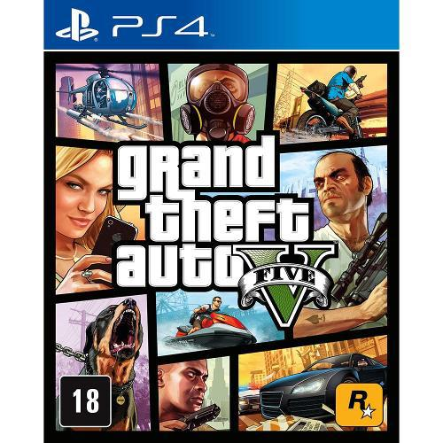 Game - Grand Theft Auto V - PS4