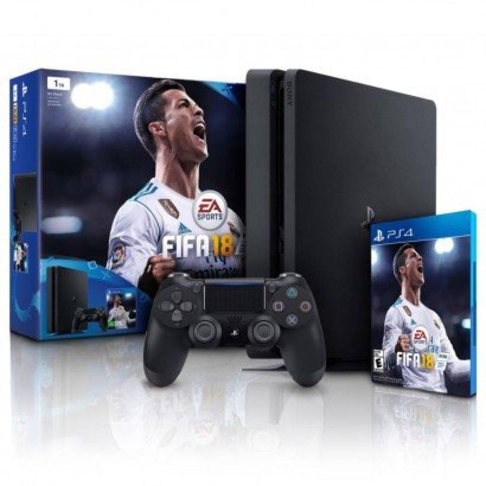 Sony Playstation 4 Slim 1 Tb Bundle FIFA 18