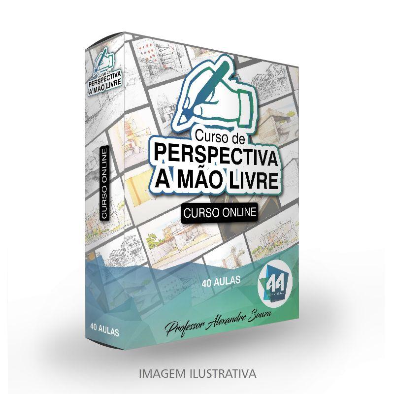 Curso online de Perspectivas a Mão Livre para Arquitetos
