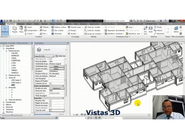 Pacote Grand Arquiteto 44: REVIT Projetos de Prefeitura + 3DsMax + V-Ray