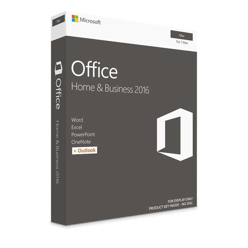 OFFICE MAC HOME AND BUSINESS 1PK 2016 BRAZILIAN