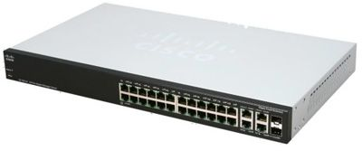 Switch Cisco SG300-28SFP-K9-NA portas Gigabit
