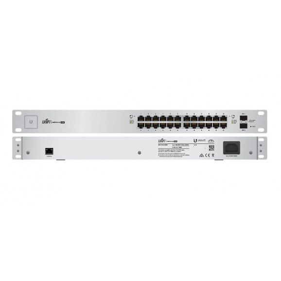 UBIQUITI UNIFI SWITCH 500W 24 PORTAS (2P SFP)