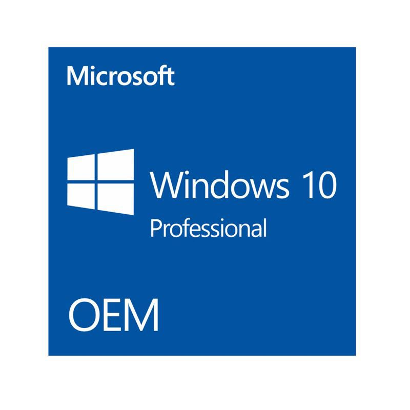 WINDOWS 10 PROFESSIONAL - 64 BITS OEI DVD