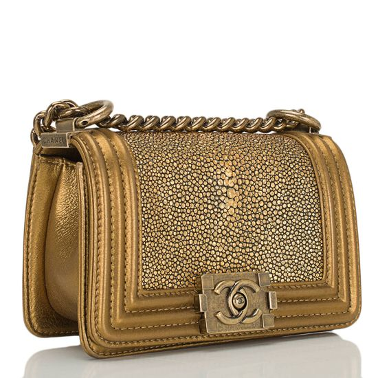 Bolsa Chanel Le Boy Stingray