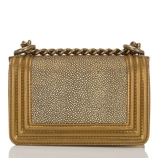 Bolsa Chanel Le Boy Stingray