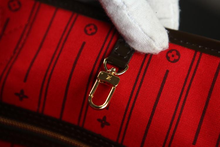 Bolsa Louis Vuitton Neverfull Damier Ebene