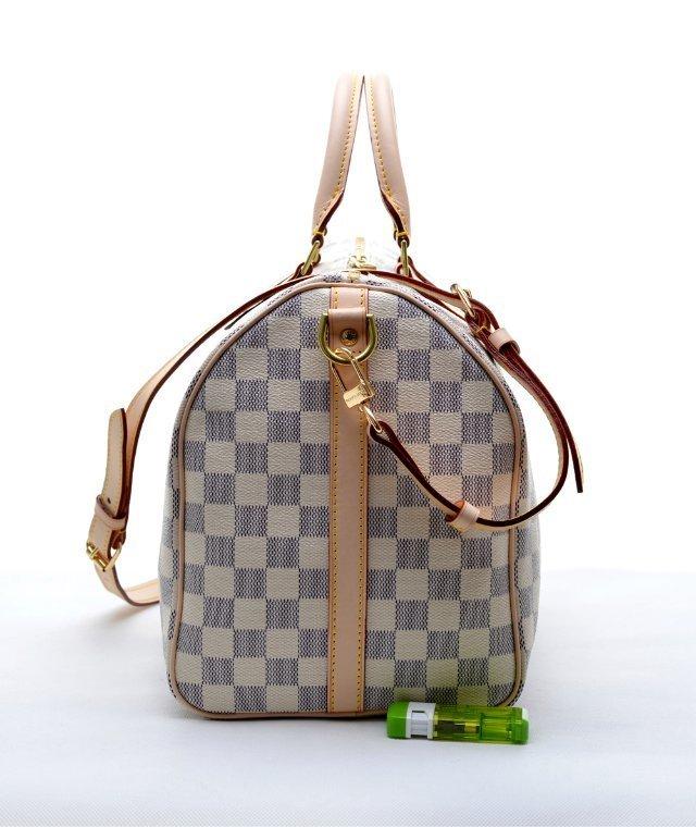 Bolsa Louis Vuitton Speedy Bandouliere Damier Azur