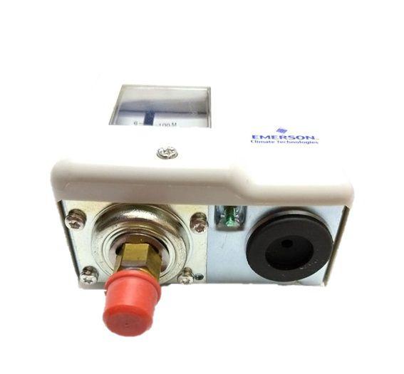 PRESSOSTATO ALTA PS1 - R5A - REARME MANUAL - EMERSON (A0099021)