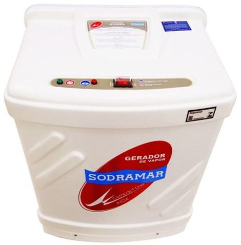 GERADOR DE VAPOR INOX COMPACT LINE SODRAMAR 24 KW